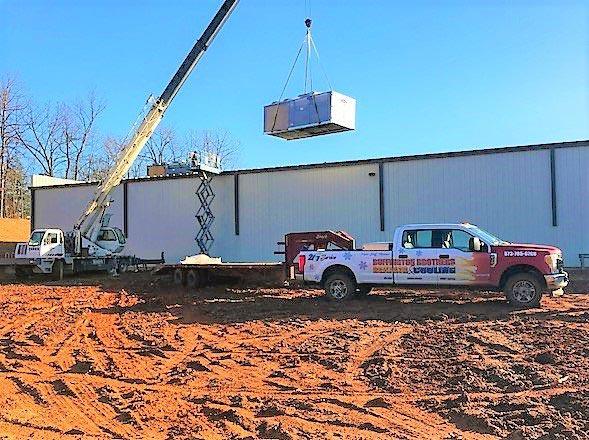 New HVAC Construction